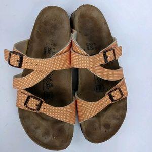 Birkenstock Birki's 10 Narrow Sandals Polka Dot